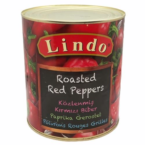 Peppers Roasted Red A10 (Lindo)